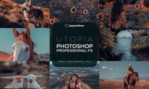 Utopia Photoshop Actions 74RKS6K