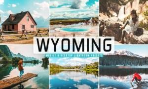 Wyoming Mobile & Desktop Lightroom Presets