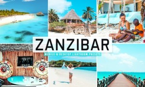 Zanzibar Mobile & Desktop Lightroom Presets