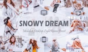10 Snowy Dream Mobile & Desktop Lightroom 7099219