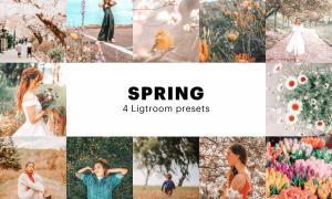 4 Spring Lightroom Presets 5627531