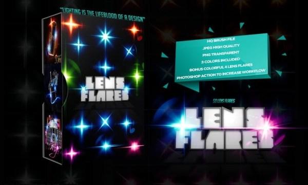 50 Lens Flares  32BGG7R