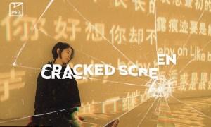 Cracked Screen Photo Effect V9TAG7N