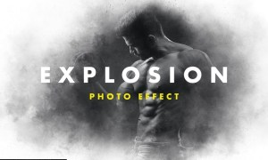 Dust Explosion Photo Effect ZN82M2L