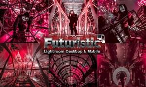 Futuristic Street Lightroom Presets J8T96G5