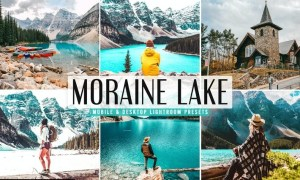 Moraine Lake Mobile & Desktop Lightroom Presets