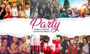 Party - 15 Premium Lightroom Presets
