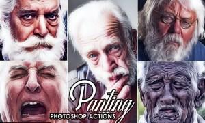Smart Oil Paint Photoshop Action QLBGENZ