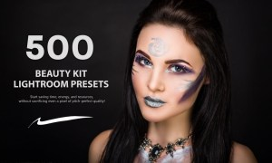 500 Beauty Kit Lightroom Presets 5787001