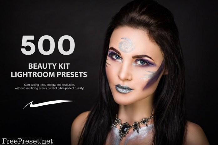500 Beauty Kit Lightroom Presets 5787001