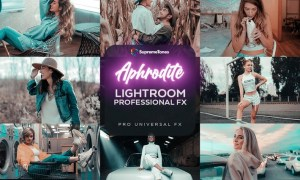 Aphrodite EXCLUSIVE Lightroom Pro Presets