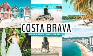 Costa Brava Mobile & Desktop Lightroom Presets