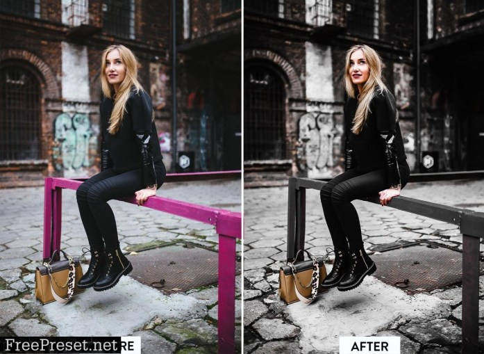 DARK MOODY Pro Lightroom Preset 5059288