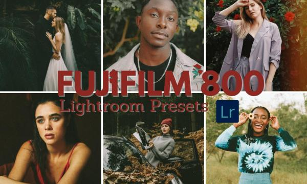 Fujifilm 800 Lightroom Film Presets 5744805