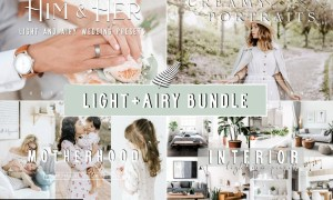 LIGHT + AIRY LIGHTROOM PRESET BUNDLE 5194907