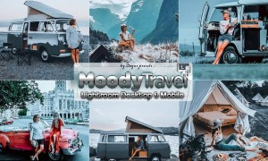 Moody Travel Lightroom Presets Mobile Desktop