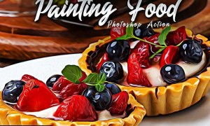 Painting Food Photoshop Actions AEVLHEB
