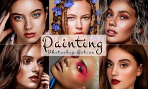 Portrait Painting Photoshop Actions