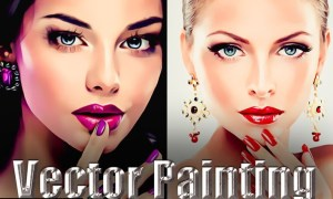 Vector Painting Photoshop Action JAYS9UN