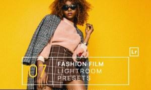 7 Fashion Film Lightroom Presets + Mobile