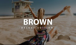 Brown Deluxe Edition | For Mobile and Desktop