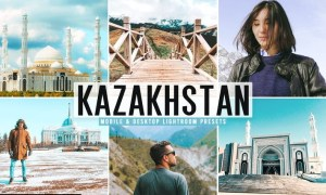 Kazakhstan Mobile & Desktop Lightroom Presets