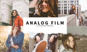 10 Analog Film Lightroom Presets 5787612
