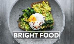 10 Bright Food Lightroom Presets