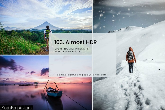 103. Almost HDR Presets 5158965