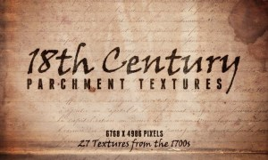 18th Century Parchment Textures Volume 1 NNMZBR