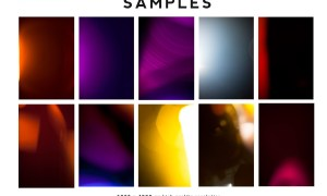 190+ Retro Analog Light Leaks Bundle 4691496