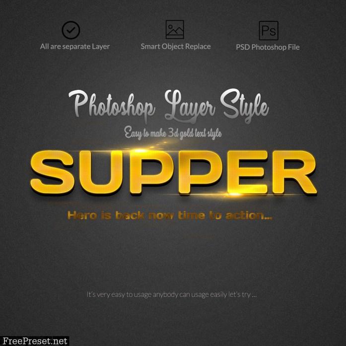 3D Bundle Photoshop Layer Style 3818287