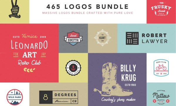 465 Logos Bundle  287274