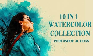 5 in 1 Watercolor Collection Bundle 4190294