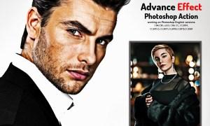 Advance Effect Photoshop Action 5892432
