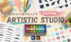 Artistic Studio: Pastel Toolkit UVDFGG