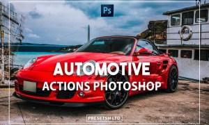 Automotive Photoshop Actions