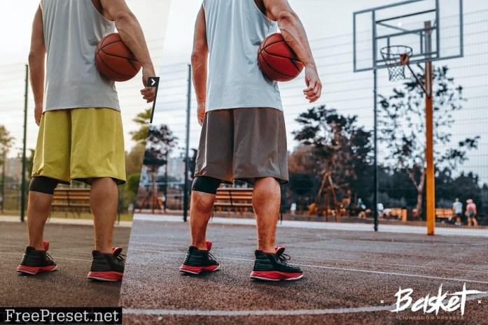 Basket Ball Lightroom Presets - Urban