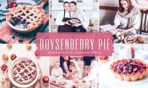Boysenberry Pie Mobile & Desktop Lightroom Presets