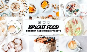 Bright Food Lightroom Presets