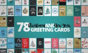 Christmas Cards Mega Set  9CWUAD