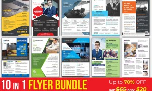 Corporate Business Flyers Bundle 3039310