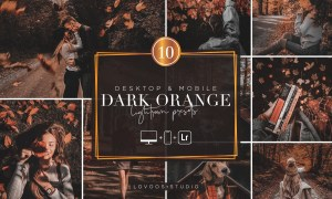 DARK ORANGE - Lightroom Presets 5987734