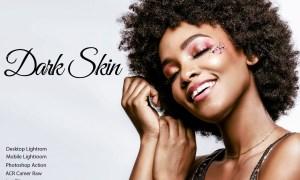 Dark Skin Color Grading Bundle 5023058