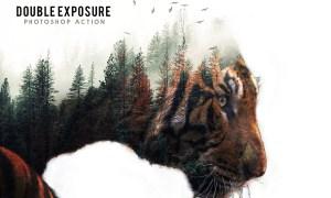 Double Exposure Photoshop Action 19208213