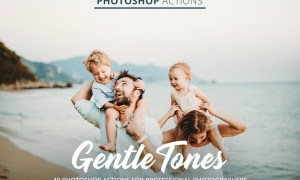 Gentle Tones Actions for Photoshop 4848118