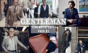 Gentlemen Cinematic LUTs Pack #1