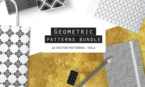 Geometric Seamless Patterns Bundle P5QM7K