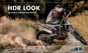 HDR Look Action & Lightroom Preset
