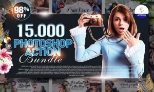 Inkydeals 15000 Photoshop Actions Bundle